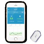 Medtrum A7+ Touchcare komplekt (1 transmitter + 2 sensorit)